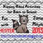 Chester Kissing Hand Activities for Back to School!