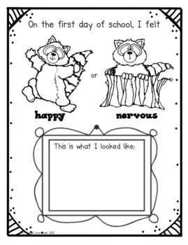 Kissing Hand First Day Activity Pack