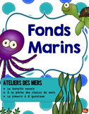 Kit de 5 ATELIERS// Fonds Marins