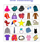 Kleidung (Clothing in German) Bingo