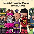 Knock Out Those Sight Words-- Fry