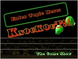 Knockout - Customizable PowerPoint Review Game