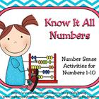 Know It All Numbers