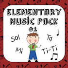 Kodaly Elementary Music Pack #1 - Sol &amp; Mi, Ta &amp; Ti-Ti