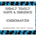Kodaly Kindergarten Scope and Sequence -