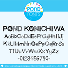 Konichiwa Font - for Personal and Commercial Use