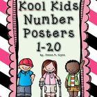Kool Kids Number Posters 1-20
