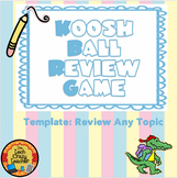 Koosh Ball SMARTboard Review Game Editable Template