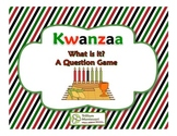 Kwanzaa- A Question Game Freebie