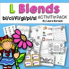 L Blends ~ Activity Pack