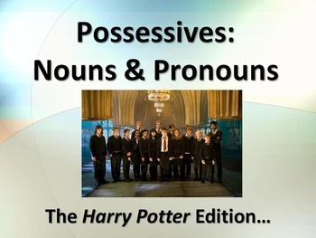 LANGUAGE: Possessive Nouns and Pronouns with Harry Potter
