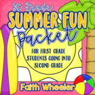 L.Arts &amp; Math - Summer Fun Packet (1st Grade)