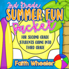 L.Arts &amp; Math - Summer Fun Packet (2nd Grade)