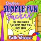 Language Arts & Math - Summer Fun Packet (Kindergarten)