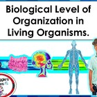 LEVELS OF BIOLOGICAL ORGANIZATION FROM CELL TO ORGANISM