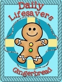 LIFESAVERS (EMERGENCY SUBSTITUTE LESSON PLANS) ~ GINGERBREAD