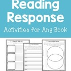 LITERATURE WORKSHEETS/ Reading Response Activities for Any Book