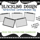 LOG YOUR PARENT COMMUNICATION - {Blackline Design Collection}