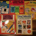 LOT OF 5 TEACHER RESOURCE BOOKS FOR LITERATURE AND PHONICS