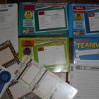 LOT of 2-Part Bahavior School To Home Notes, Rewards, & Name Tags