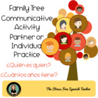 La Familia - Family Tree Communicative Activity for Spanis