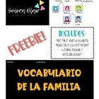 La Familia notes/worksheet