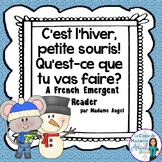 La Petite Souris - A Winter Themed French Emergent Reader