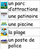 La communaute-French Vocabulary Word Wall of Community