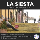 La siesta 6 day lesson plans for Spanish 1