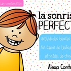 La sonrisa perfecta {Dental Health Literacy and Math Cente