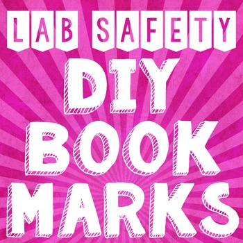 Lab Safety Bookmark Project with Rubric