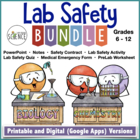 Lab Safety:  The Ultimate Lab Safety Bundle for Science Teachers