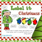 Label It Christmas!