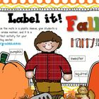 Label It Fall!