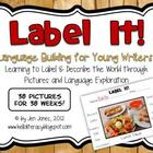 {Label It!} Language &amp; Vocabulary Building Activities for 