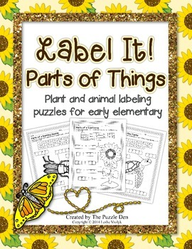 Label It: Parts of Things