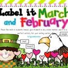 Label It! President&#039;s, Valentine&#039;s, and St Patrick&#039;s Days