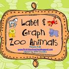 Label and Graph Zoo Animals FREE