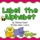 Label the Alphabet