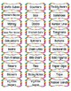 Labels for Classroom Organization, Supplies, & Manipulativ