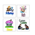 Labels for Literacy Stations