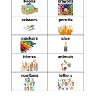 Labels for a Pre K- K classroom