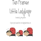 Lady Bug Ten Frames