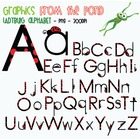 Ladybug Alphabet - Graphics for Commercial Use