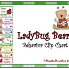 Ladybug Bears Behavior Clip Chart