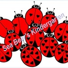 Ladybug Counting Clip Art
