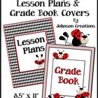 Ladybug Lesson Plans & Grade Book Covers