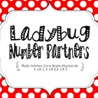 Ladybug Number Partners {Common Core Aligned}