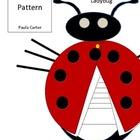 Ladybug Pattern for Writing