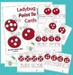 Ladybug Point To Cards - Multiplication Math Center Activity
